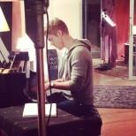 Derek Hough filming 'Let Me In' music video #17